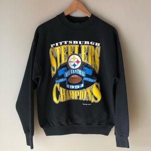 Vintage Pittsburgh Steelers crew